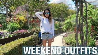 Walkin' in L.A. • Weekend Vlog & Lookbook | ttsandra thumbnail