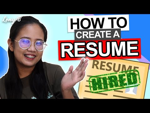 How to create a Quick, Easy and Winning Resume for an Online Job