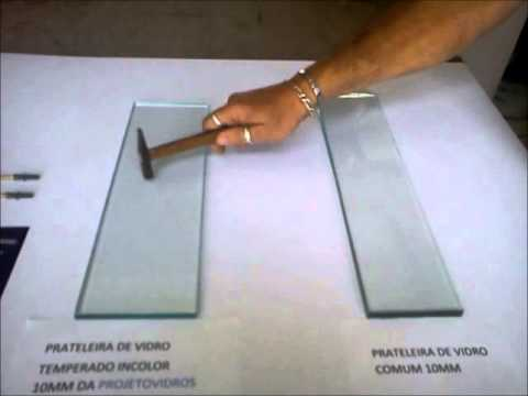 Estante De Vidro Temperado : Prateleira de vidro youtube