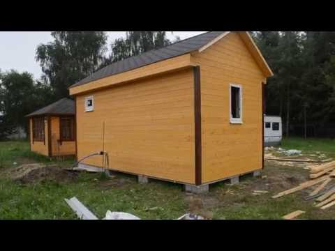 Каркасный домик 6х3