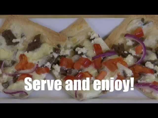 GYRO LAVASH FLATBREAD PIZZA