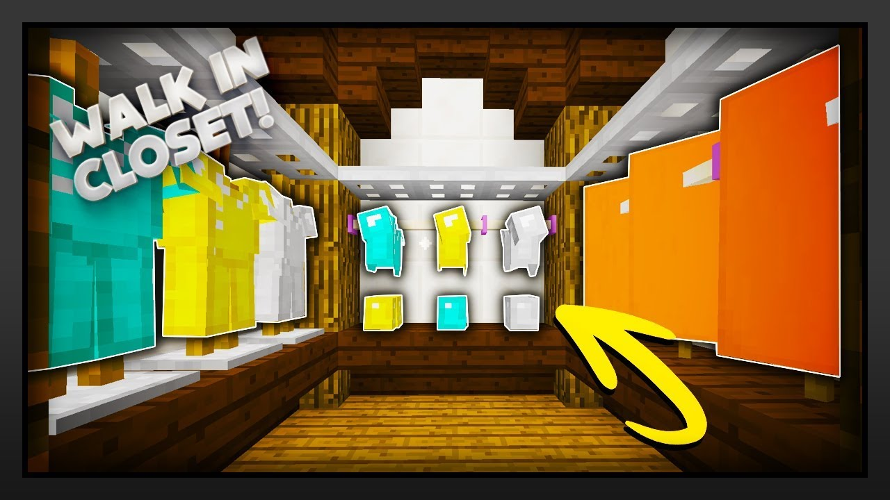 minecraft how to make a walk in closet youtube 12301 | maxresdefault