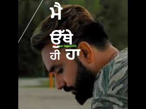 Punjabi Sad Song 😭 Babbu Maan What's App Status Video