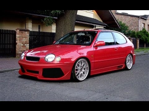 toyota corolla tuning body kits youtube. Black Bedroom Furniture Sets. Home Design Ideas