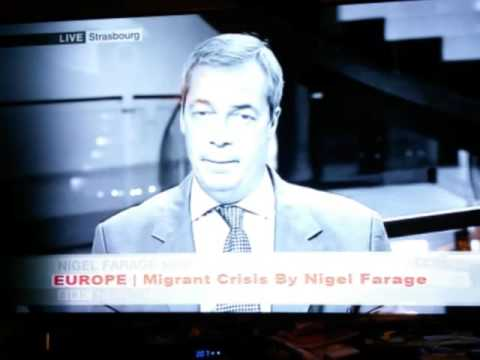 The legal definition of a refugee by Niger Farage