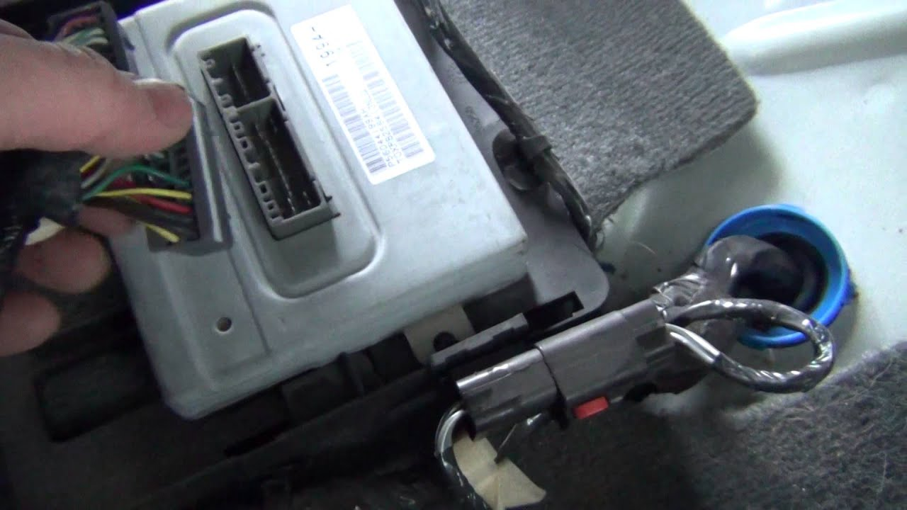 WK Jeep Grand Cherokee FDCM Swap (Due to N23 Recall)  YouTube