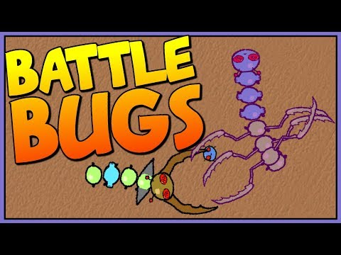 BUILDING THE ULTIMATE BATTLE BUG - Battle Bugs - Ludum Dare 38 - Let's Play Battle Bugs Gameplay