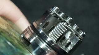 MCM Nuclear 25mm RDA Review and Rundown   Triple Coil Towers