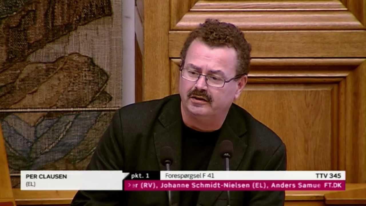 Folketinget 31. maj 2011 - Per Clausen (Enhedslisten) - Tale, spørgsmål og svar