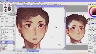 Connor [detroit become human] - speedpaint