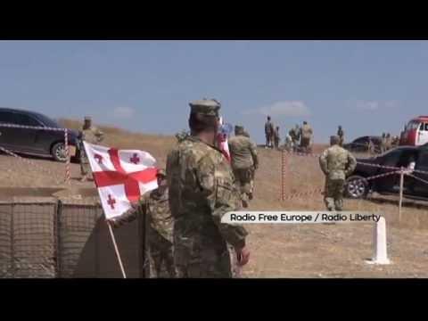 Georgia-NATO Tank Training: Georgian Defence Minister opens new area for tank training