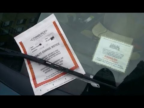 How to deal with a parking ticket lawfully. Read description for further information.