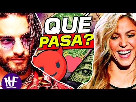 CLANDESTINO 🎵 Shakira 😻  y Maluma 😈 *illuminati*  Maluma quiere ser Juanes 😂 *sale mal