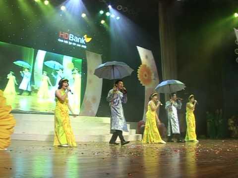 Buc hoa dong que- HDBank Hai Duong