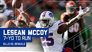 LeSean McCoy Leads the Bills Down the Field for a TD! | Bills vs. Bengals | NFL