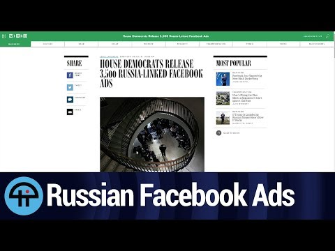 Congress Releases over 3500 Russian Facebook Ads