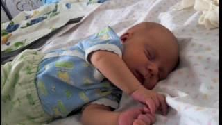 Сон младенца. Полина 1 месяц