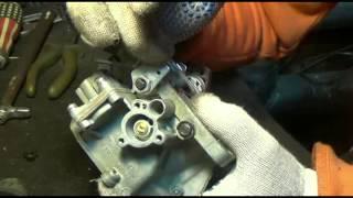 видео Конструкция и проверка электромагнитного клапана карбюратора автомобиля Нива ВАЗ-21213