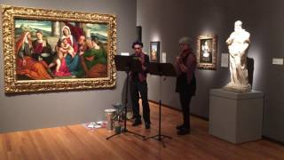 Early Music meets Early Art Nasher Museum 10/2016