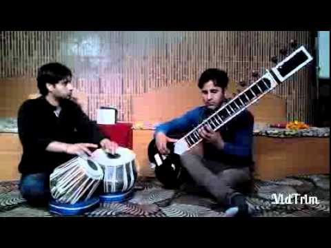 Main tere ishq me song on sitar by Kumar Surendra