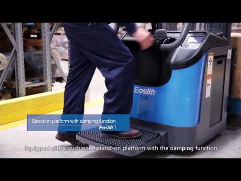 Электрические самоходные штабелеры EOSLIFT