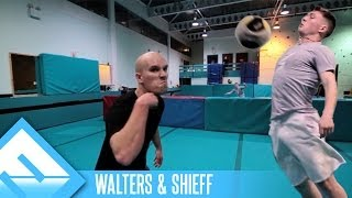 Extreme Football Tennis! | Walters & Shieff (ep. 1)