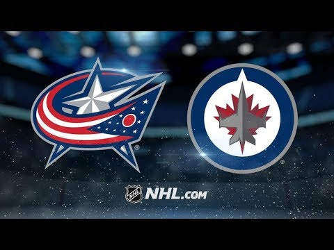 Columbus Blue Jackets Vs. Winnipeg Jets | NHL Game Recap | October 17, 2017 | HD