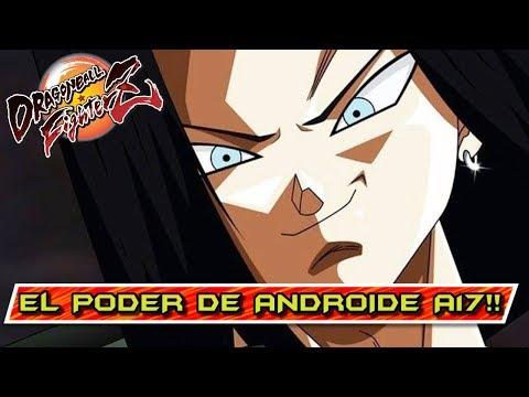 ANDROIDE 17 y VIDEL ES UN EQUIPO ÉPICO!! DRAGON BALL FIGHTERZ: ONLINE
