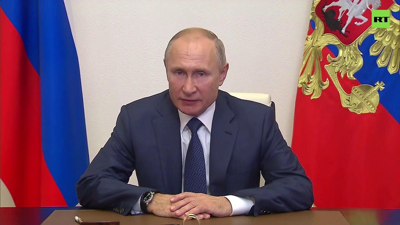 Заявление Путина о полном прекращении огня в Нагорном Карабахе