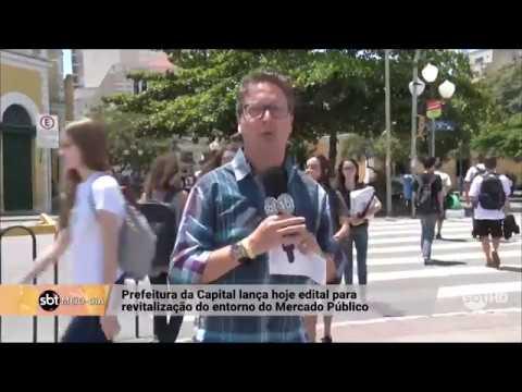 Prefeitura de Florianópolis lança edital para revitalização do entorno do Mercado Público