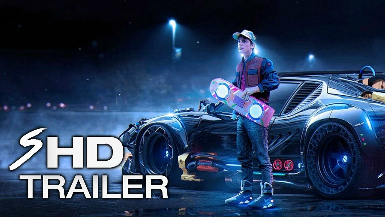 Back To The Future 4 Teaser Trailer Concept 1 Michael J
