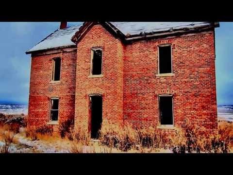 Grouse Creek, Utah abandoned house - Surreal