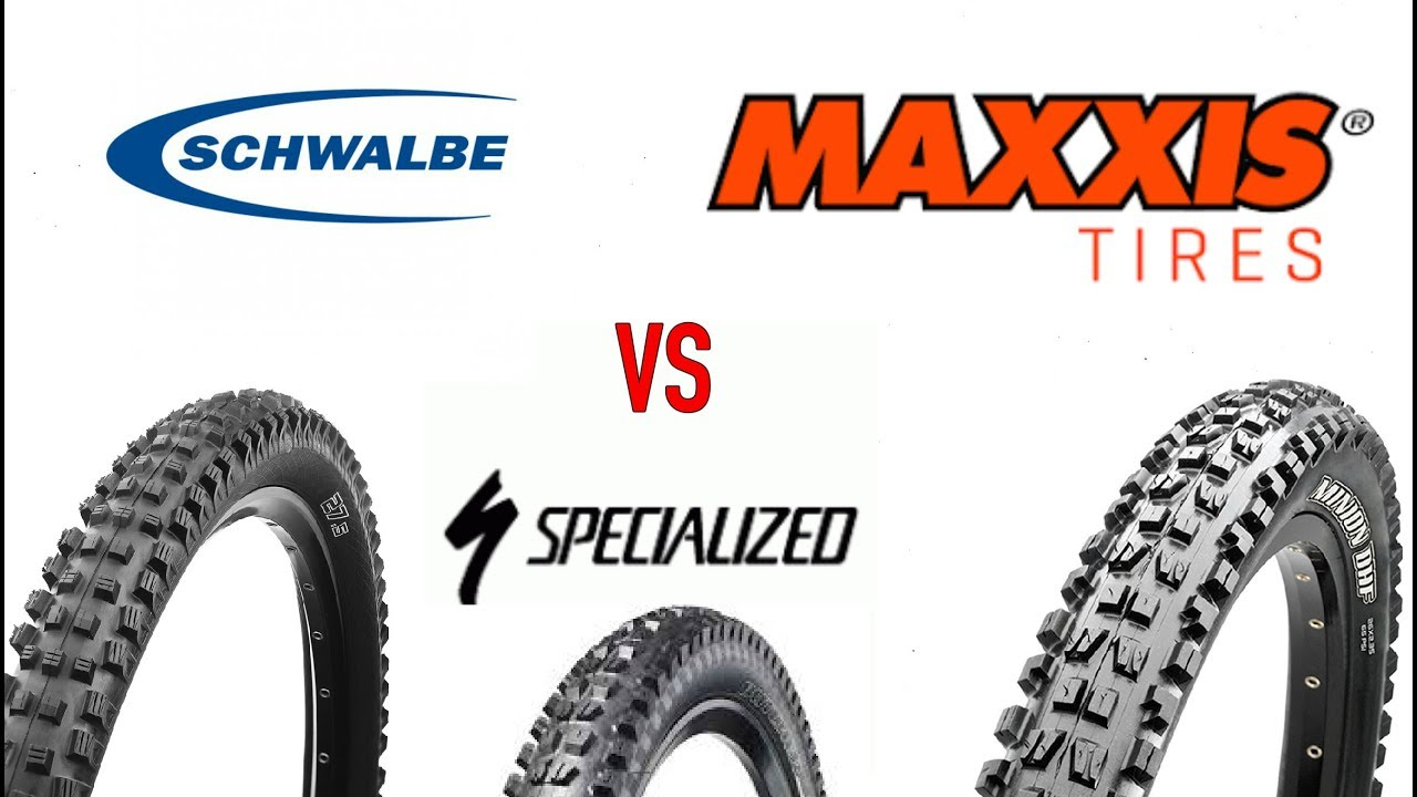 Best Enduro Mtb Tires Maxxis Vs Schwalbe Vs Specialized Youtube