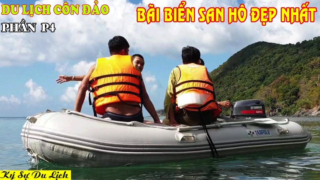 Du Lịch Côn Đảo - P4 - Khám Phá San Hô Bãi Tắm Ông Đụng