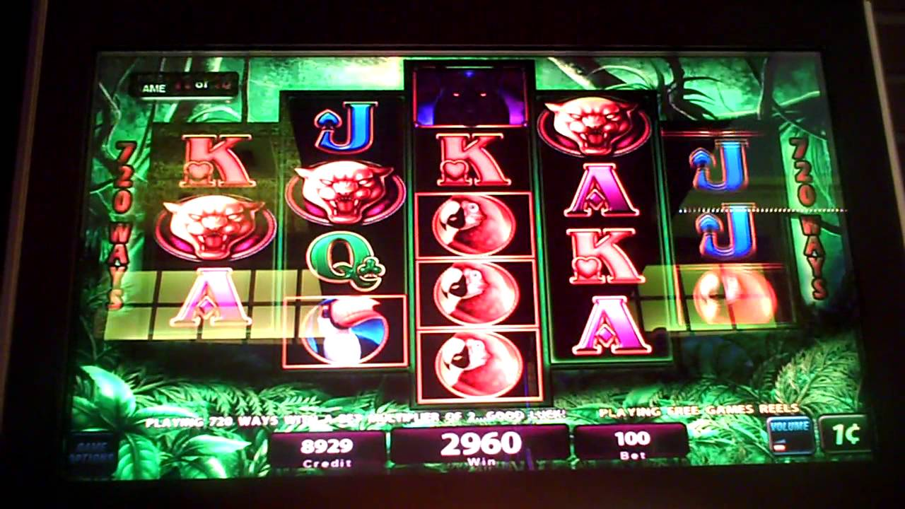 Prowling panther slot machine youtube