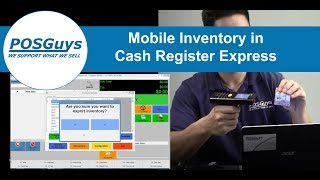 New mobile inventory option in pc america cash register express. use the budget friendly cipherlab 8200 to do simple inventory, price checks, and item descri...