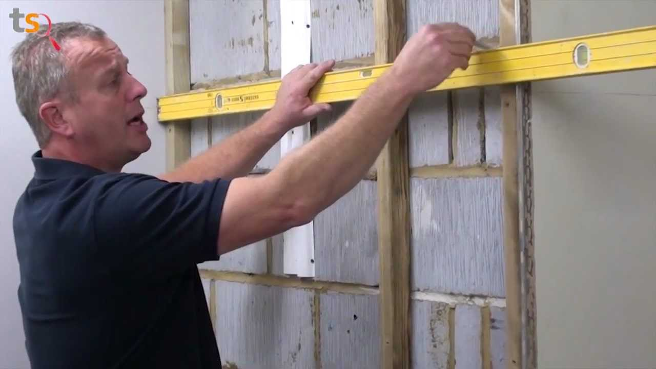 Tommy S Trade Secrets How To Batten A Wall Youtube