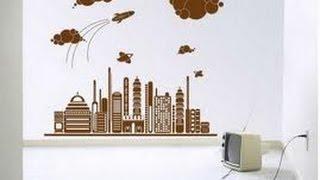 Украшение для стен виниловые наклейки(Виниловые наклейки на стену - стильный декор! Виниловые стикеры на стены способны придать помещению любую..., 2013-08-10T02:00:12.000Z)