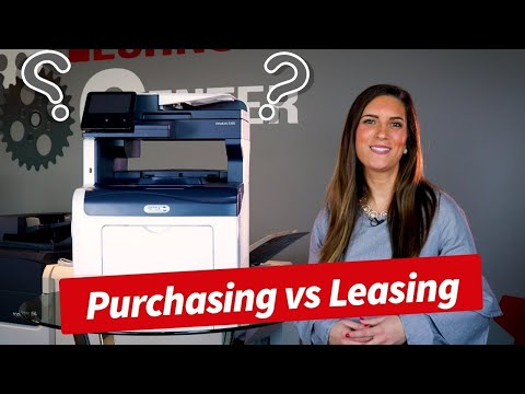 Purchasing vs Leasing A Copier