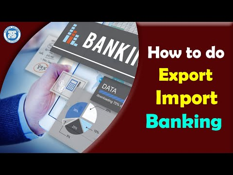 How to Do Export Import Banking | EXIM Banking | Online Exim Solution