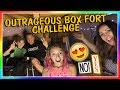 OUTRAGEOUS BOX FORT CHALLENGE! | We Are The Davises
