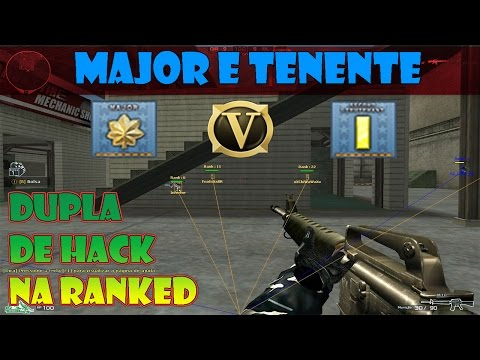 MAJOR E TENENTE Dupla de Hack na RANKED - CROSSFIRE AL