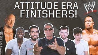 CAN YOU NAME WWE ATTITUDE ERA FINISHING MOVES? (FEAT: KEN SHAMROCK)