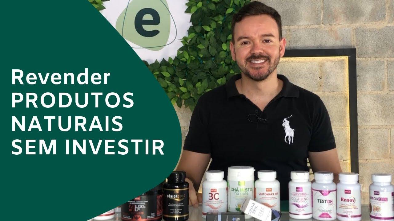 Revender produtos naturais sem investimento