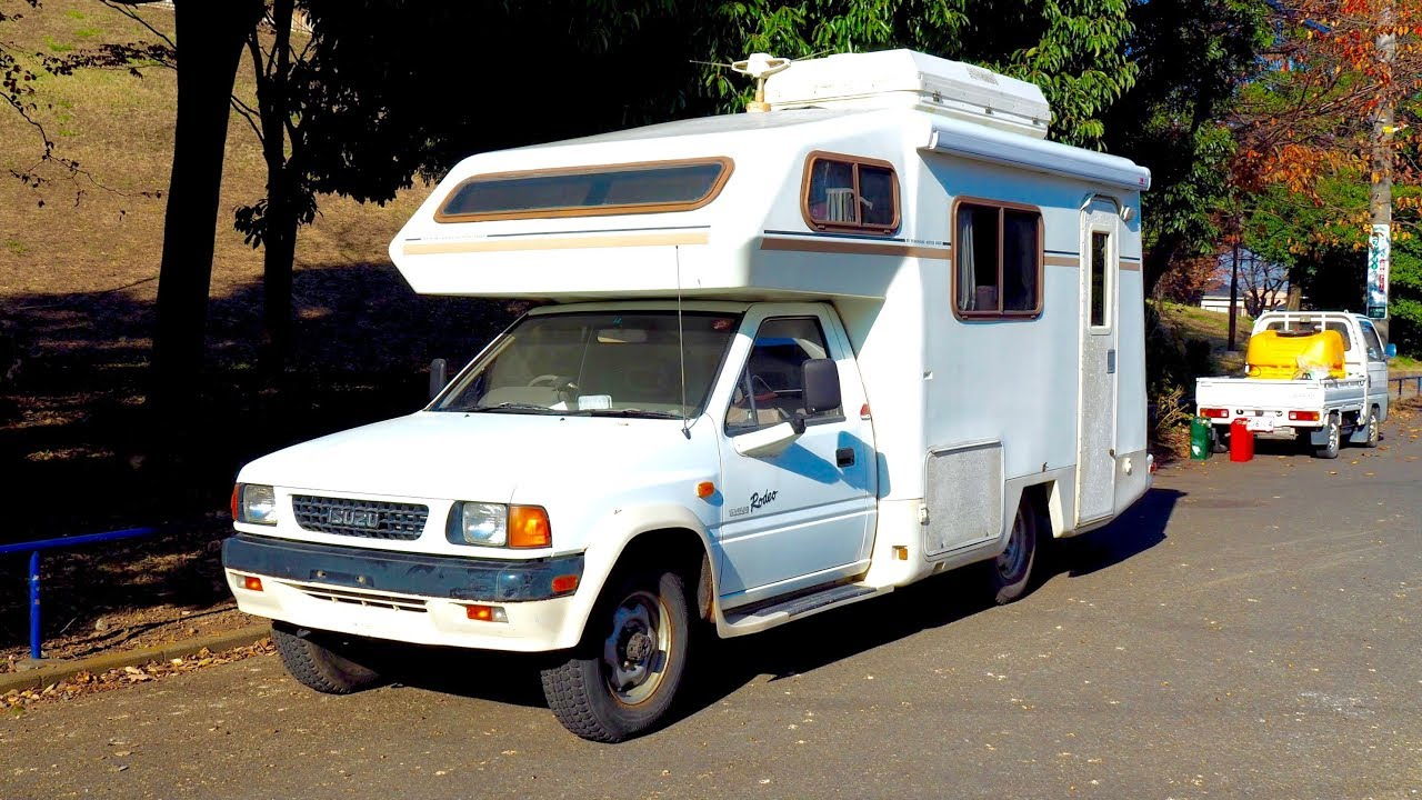 1990 Isuzu Rodeo 4x4 Manual Camping Car (USA Import) Japan Auction Purchase  Review