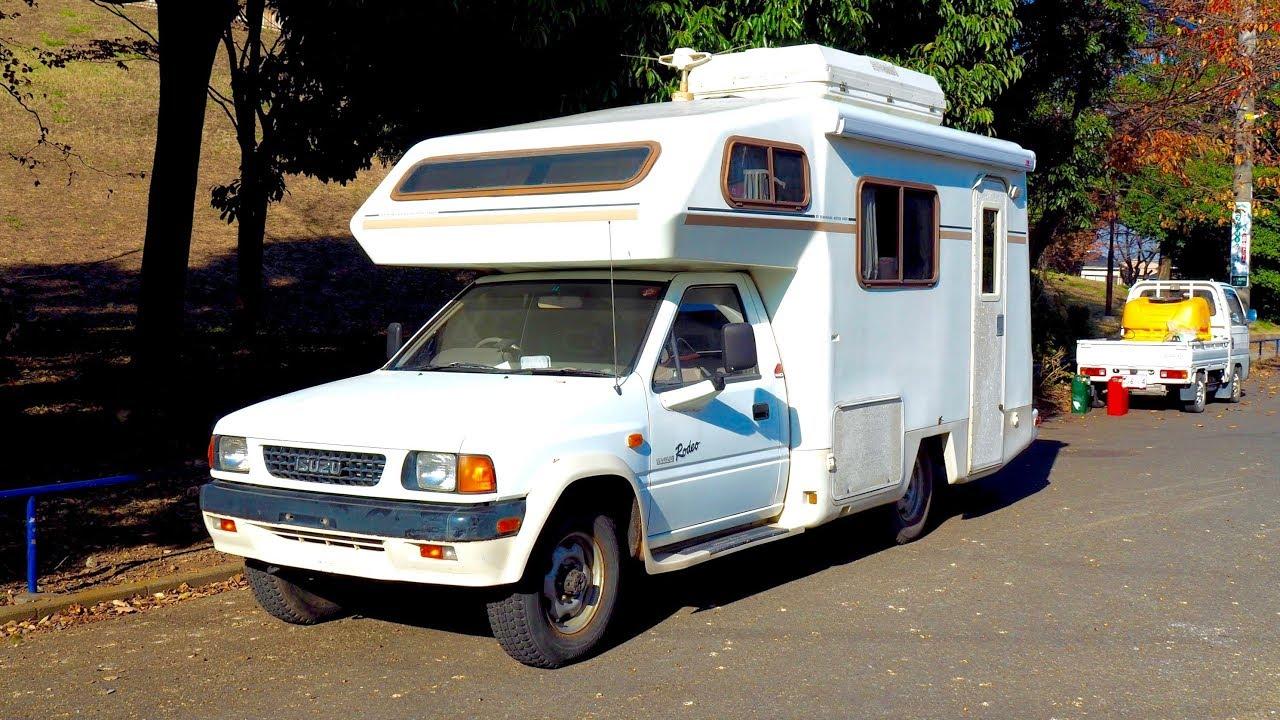 1990 Isuzu Rodeo 4x4 Manual Camping Car Usa Import Japan