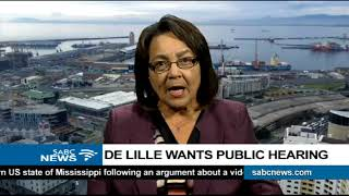 Patricia De Lille speaks on her disciplinary hearing set for Tuesday
