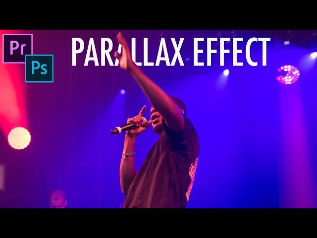 How to create a 2.5D Parallax Moving Photo Effect in Adobe CC (Photoshop + Premiere)