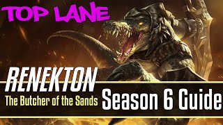 League of Legends Renekton Guide | Season 6 | Patch 6.18