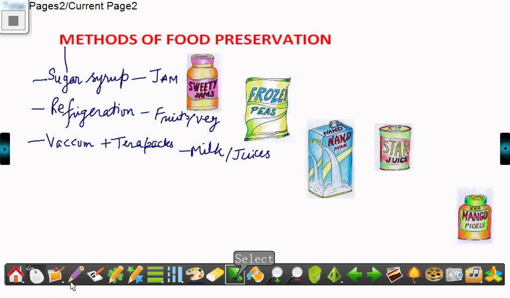 Methods Of Food Preservation Youtube